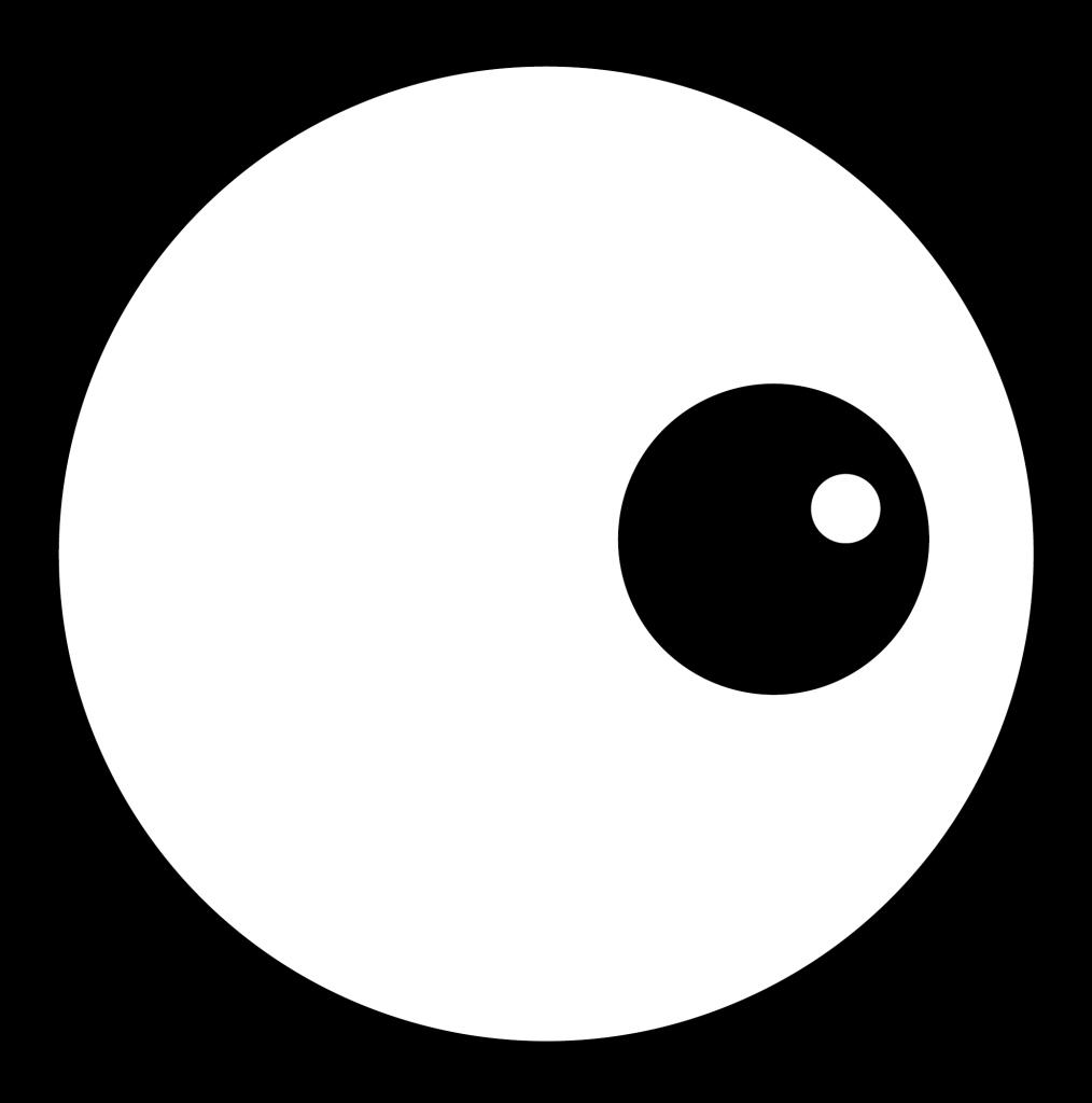 Nosey Neighbour eye graphic