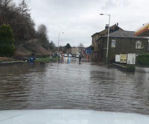 Bacup flooding