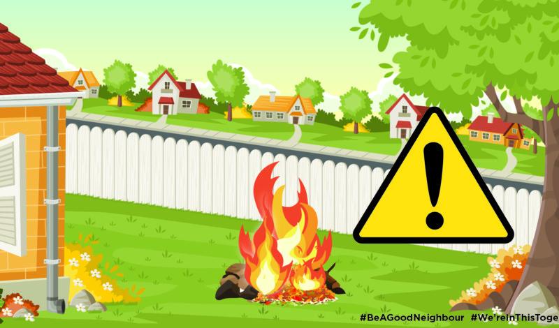 bonfires warning slider image