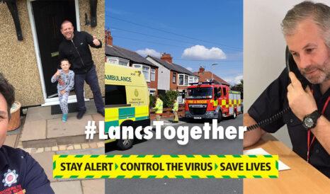 #LancsTogether Collage