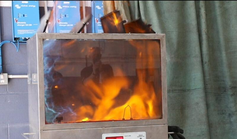 Vapour gas explosion image