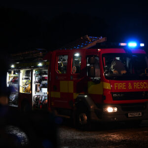 Fire Engine Bonfire Night