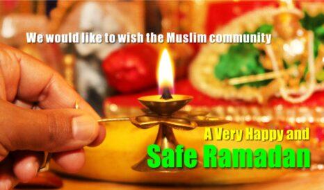 Happy and Safe Ramadan