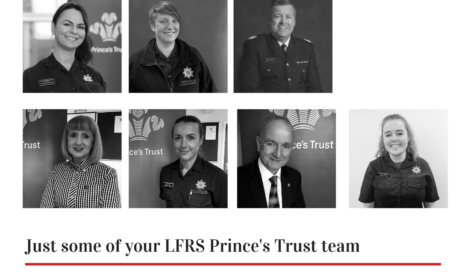 pictures showing some of our staff to celebrate our 20 years of princes trust