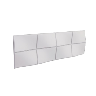 Bump Midres Arstyl Lightweight Wall Panel - L1135 x H380