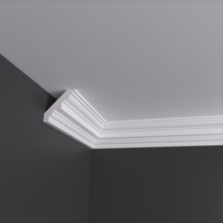 Medium Georgian Plaster Cornice Coving - 3m