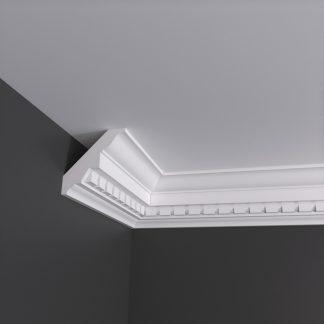 Large Dentil Plaster Cornice Coving - 3m