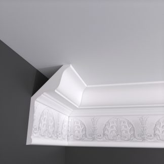 Edinburgh Plaster Cornice Coving - 3m