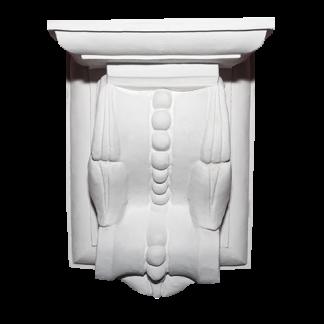 Gothic Plaster Corbel - H27 x W19 x D16cm