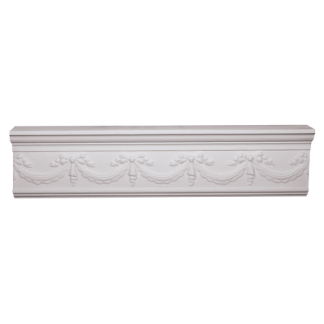 Swag and Bow DP15 Plaster Panel Mould - 3m