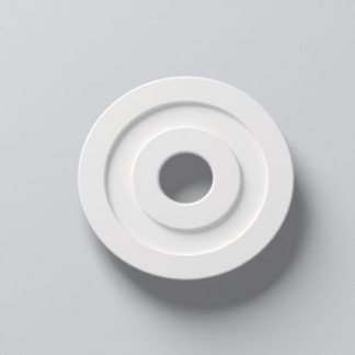 R61 Lightweight Ceiling Rose - 17in / 42cm