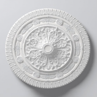 Victoria Lightweight Ceiling Rose - 38in / 97cm