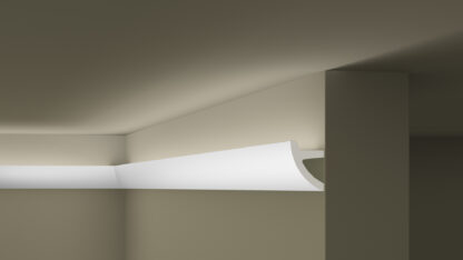 IL1 ARSTYL® Plastic Lightweight  Cornice Coving Lighting Solution - 2m