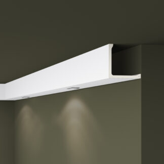 L1 ARSTYL® Plastic Lightweight  Cornice Coving Indirect Lighting System - 2m