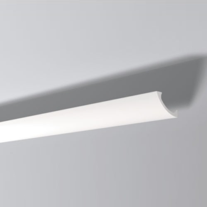 WT3 Plastic Lightweight  Cornice Coving Indirect Lighting System - 2m