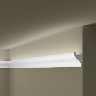 IL3 WALLSTYL® Plastic Lightweight  Cornice Coving Lighting Solution - 2m