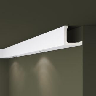 L4 ARSTYL® Plastic Lightweight  Cornice Coving Indirect Lighting System - 2m
