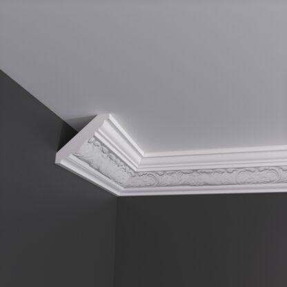 Small Acanthus Plaster Cornice Coving 3m