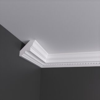 Small Dentil Plaster Cornice Coving - 3m