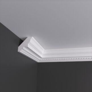 Small Dentil Plaster Cornice Coving - 3m