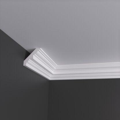 Medium Georgian Plaster Cornice Coving - 3m