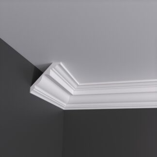 Large Georgian Run Plaster Cornice Coving - 3m