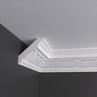 Large Acanthus Plaster Cornice Coving - 3m