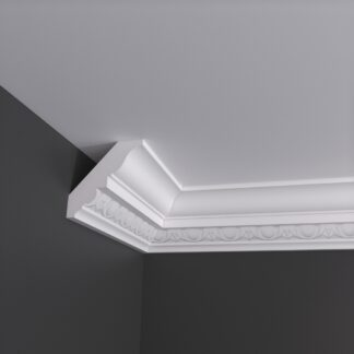 Large Egg and Dart Plaster Cornice Coving - 3m