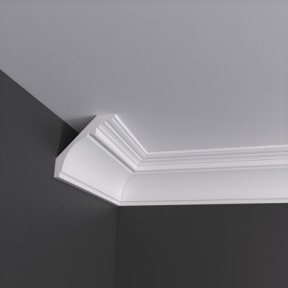 Crosby Run Plaster Cornice Coving - 3m