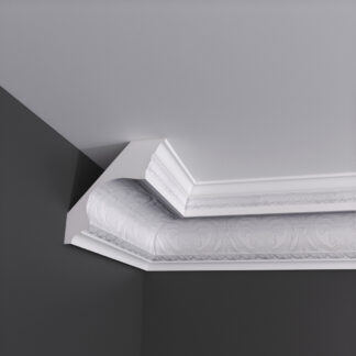 Large Honeysuckle Plaster Cornice Coving - 3m