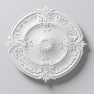 Laura Lightweight Ceiling Rose - 30in / 77cm