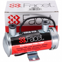 Facet 480532 Solid State Electronic Fuel Pump (Cylindrical 12V)
