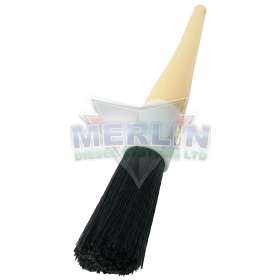 Heavy duty component cleaning brush