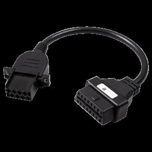 Delphi 8 Pin Volvo OBD Diagnostic Test Cable SV10822