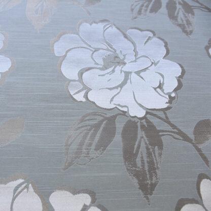 5.4M Monroe Azure Curtain Roll End