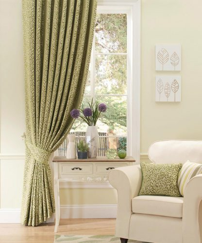 Ashbourne - Pampas Pencil Pleat Curtains