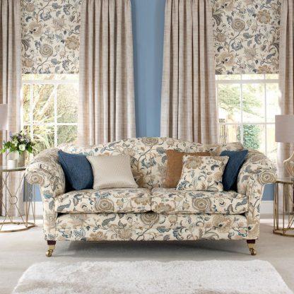 Charlotte - China Blue, Reupholstery