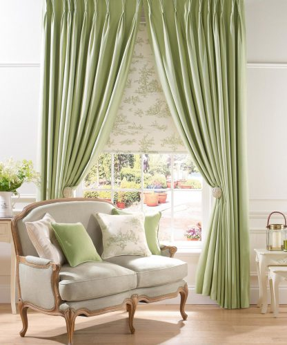Eton - Pampas, Pinch Pleat Curtains