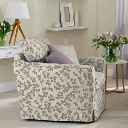 Fernley - Shadow chair with Thorpe - Shadow sofa, Designer Elite make-up