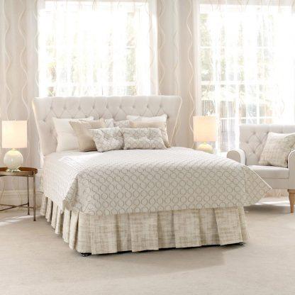 Glamour - Linen, Luxury Classic Bedspread
