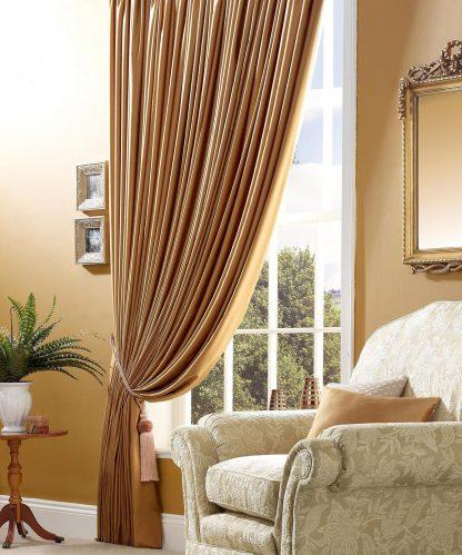Perita - Latte, Pencil Pleat Curtains