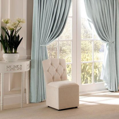Savannah - Mist, Pencil Pleat Curtains