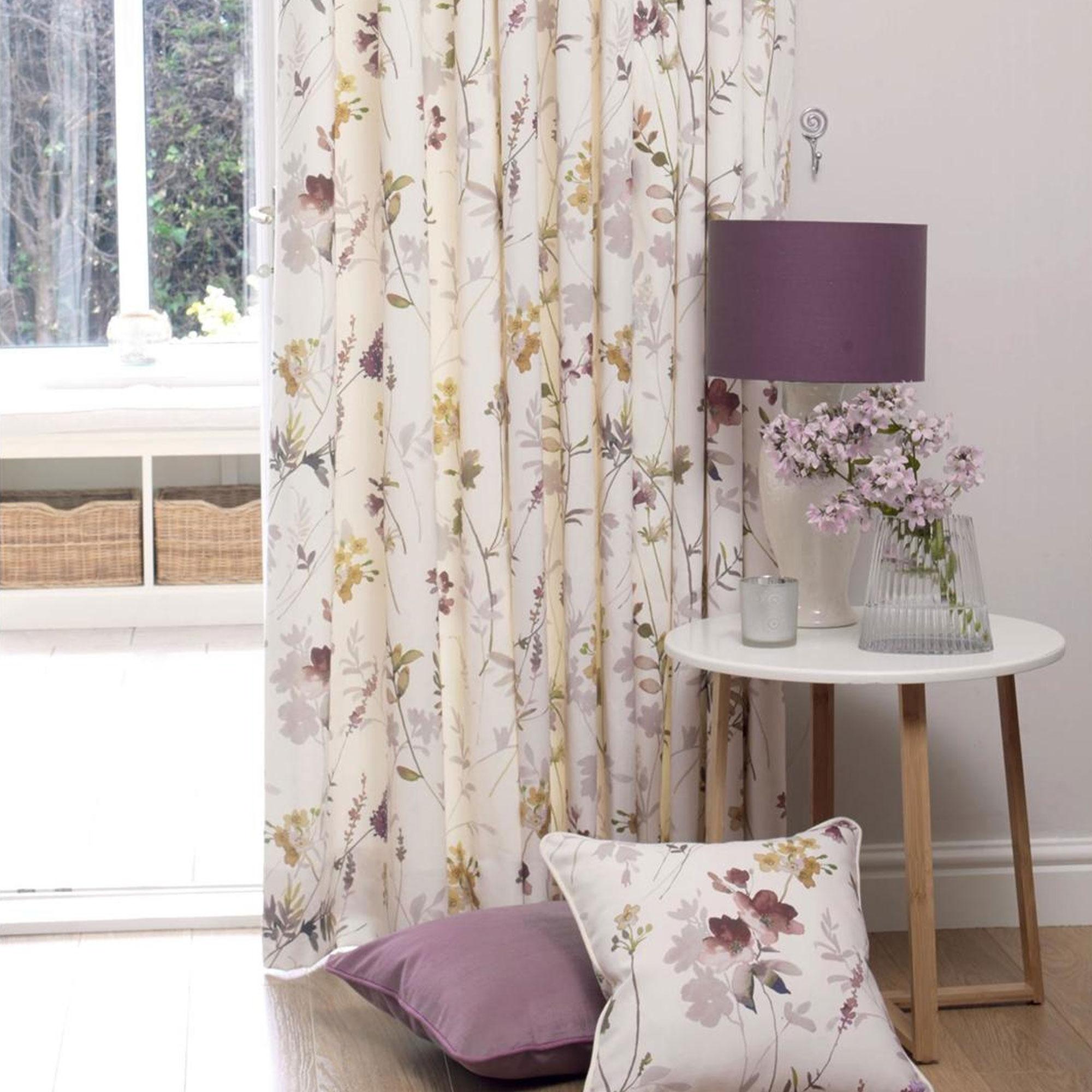 Tuilleries - Rose Quartz, Pencil Pleat Curtains
