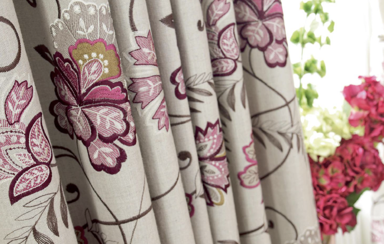 Bukhara - Berry made to measure curtains