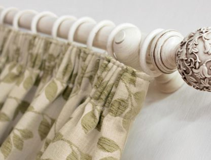 Lakeside - Willow, Pencil Pleat Curtains