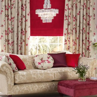 Wentworth - Red, Roman Blind