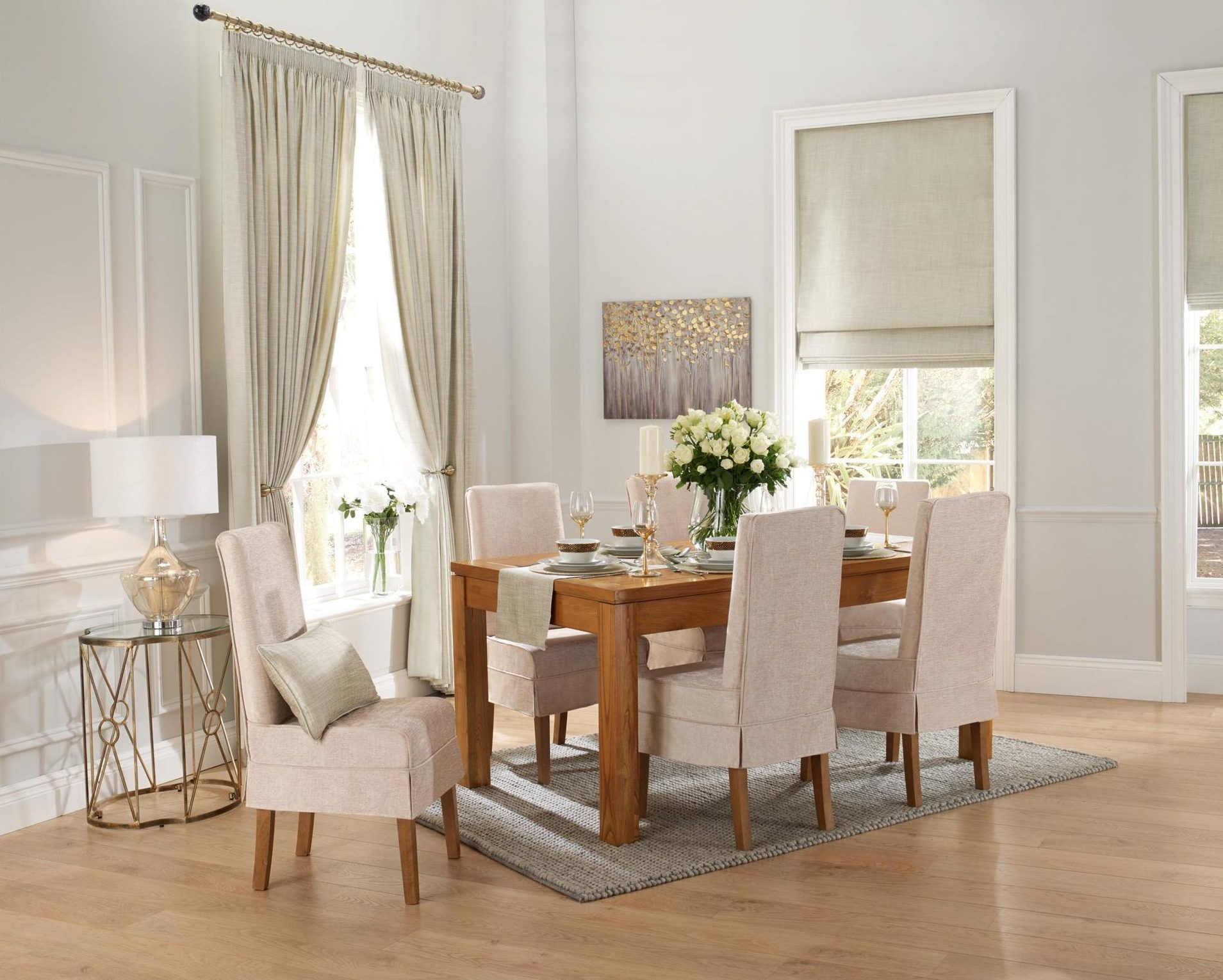 Ennis - Natural, made to measure curtain and blinds