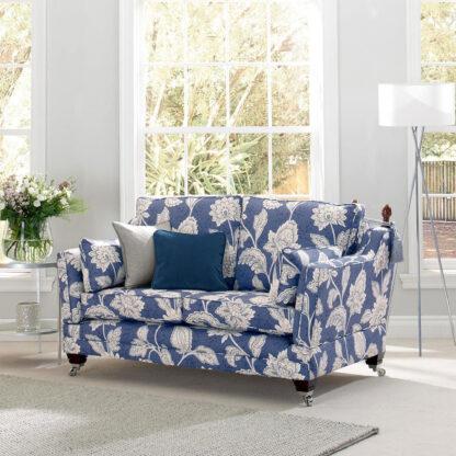 Charlton, Navy Blue - Reupholstery