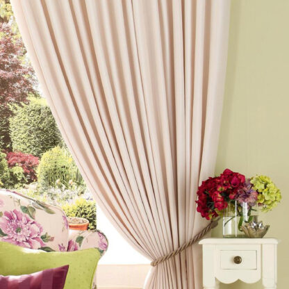 Perita - Ivory, Pencil Pleat Curtains