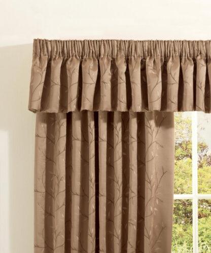 Chaumont - Antique, Pencil Pleat Curtains